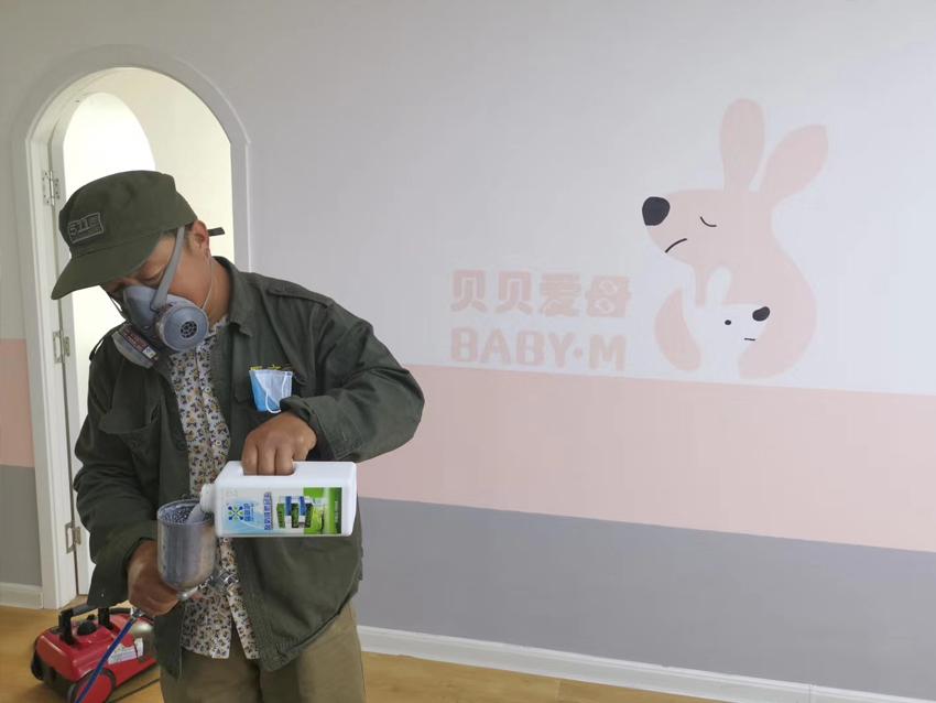 青岛贝贝爱母室内空气治理+小分子负氧离子空气净化
