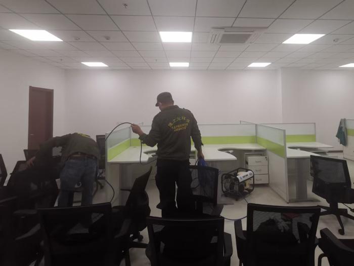 兴业银行青岛崂山区支行办公区除甲醛
