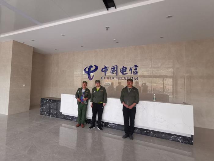 中国电信云计算中心办公楼空气净化