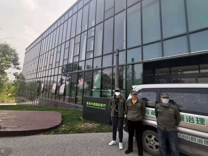 中德国际会客厅除甲醛室内空气治理