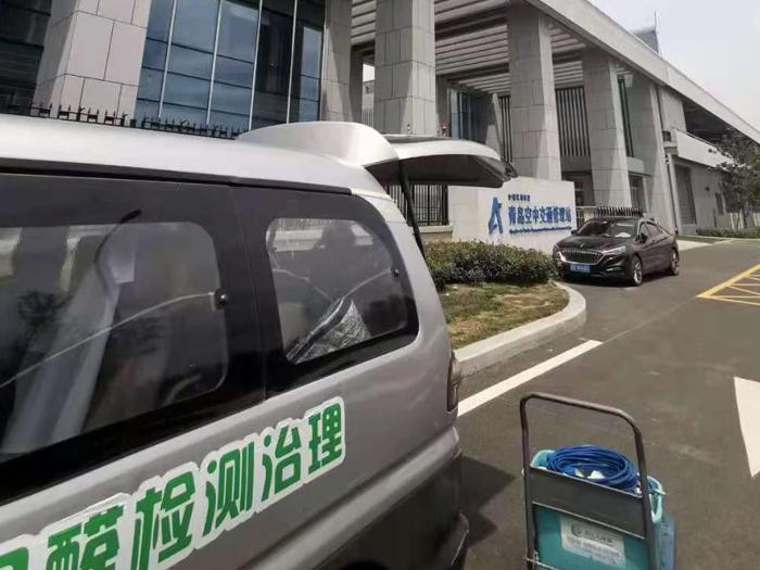 青岛胶东国际机场除甲醛空气净化