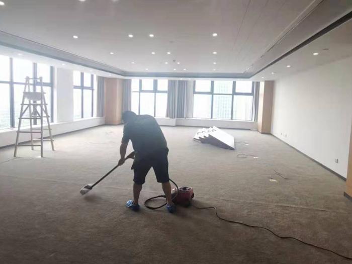 西海岸新区万鑫中央广场写字楼除甲醛