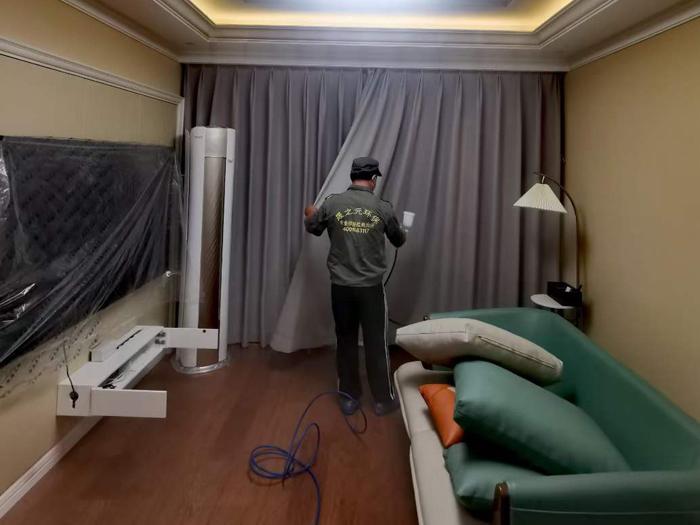 青岛城阳区青特小镇室内空气治理除甲醛